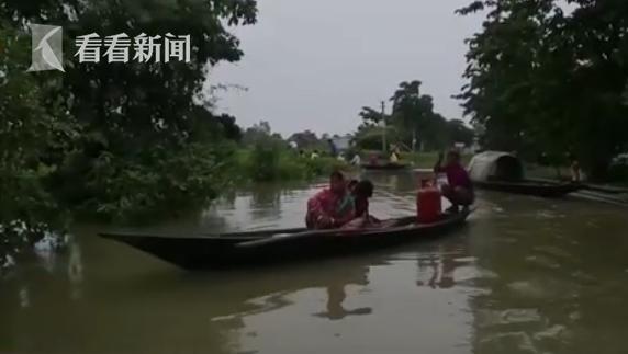 印度洪灾已造成超过200人死亡