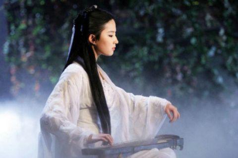 古装剧中的白衣女星 刘诗诗高贵优雅韵味十足 婚姻家庭 第2张