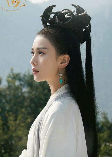 古装剧中的白衣女星 刘诗诗高贵优雅韵味十足 婚姻家庭 第4张