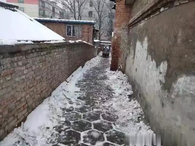 雪景很美,你们很暖 交通事故 第3张