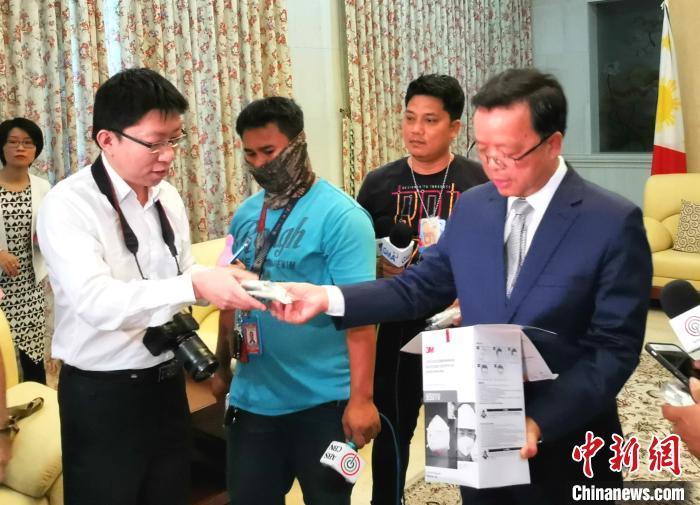 驻菲大使黄溪连:中国有信心有能力打赢疫情防控阻击战 交通事故 第2张
