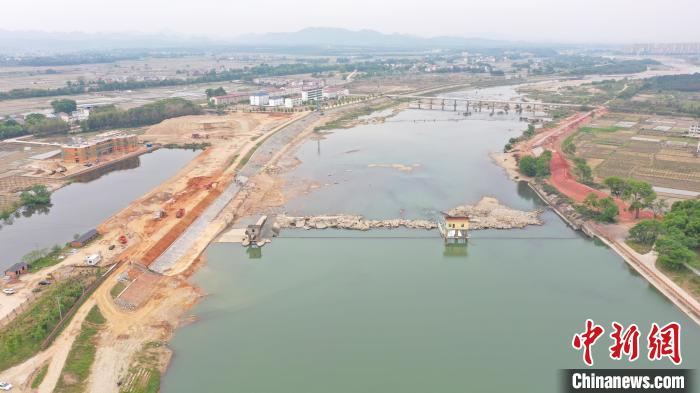 江西大力推进水毁工程修复 马荃圩堤灾后抢险加固工程竣工