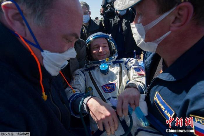 """3名宇航员是国际空间站第62批科考组成员,于2019年9月25日从哈萨克斯坦拜科努尔航天发射场升空前往国际空间站,在""""空""""中度过了205天。图为美国宇航员摩根。 疫情影响航天活动 宇航员落地后感叹地球""""不一样了"""" 婚姻家庭"""